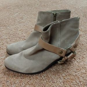❤️SALE❤️ Sam Edelman Leather Suede Booties